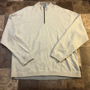 Tommy Bahama 1/4 Zip Reversible Pullover Sweater